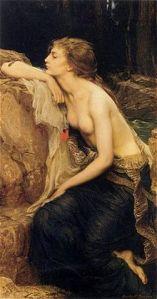 Lamia,Lamia by Herbert Draper (British, 1864-1920)