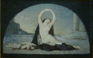 Woman in Classical Setting  Pierre Puvis de Chevannes[1]
