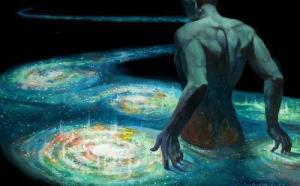 paseo por el río cósmico